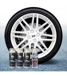 Pack 3 Sprays de 400ml Color BLANCO + 1 Spray Barniz MATE
