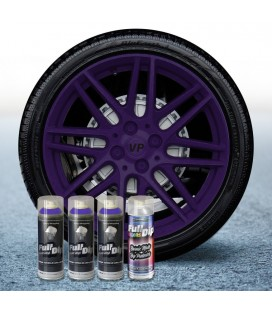 Pack 3 Sprays de 400ml Color VIOLETA + 1 Spray Barniz MATE