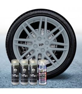 Pack 3 Sprays de 400ml Color NARDO GREY + 1 Spray Barniz MATE