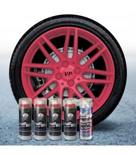 Pack 4 Sprays de 400ml Color ROSA + 1 Spray Barniz MATE