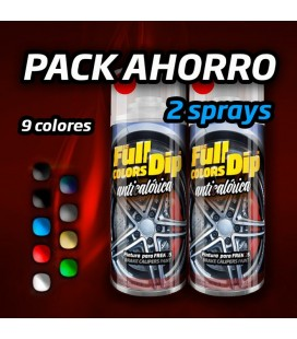 PACK AHORRO Pintura Anticalórica - 2 Sprays 400ml