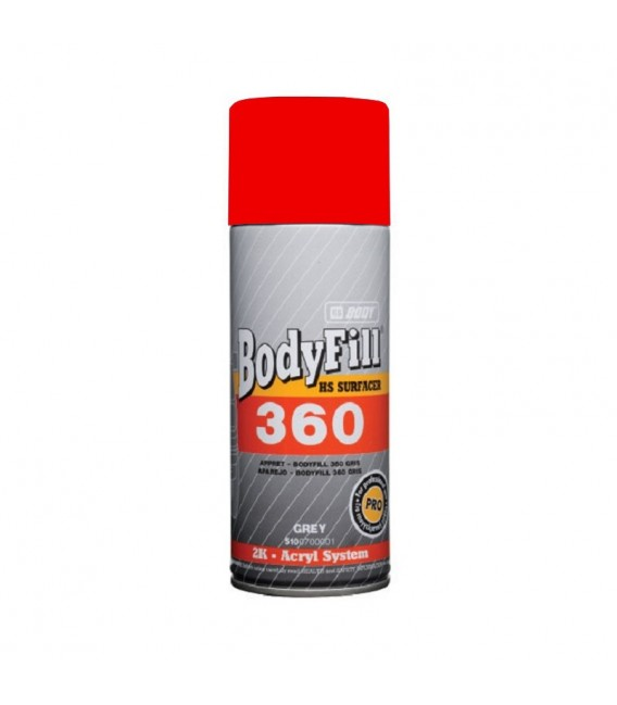 APAREJO ROJO 2K BODYFILL 360 HBBODY SPRAY 400 ML