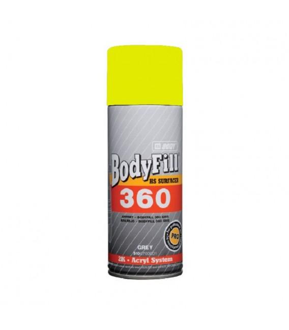 APAREJO AMARILLO 2K BODYFILL 360 HBBODY SPRAY 400 ML