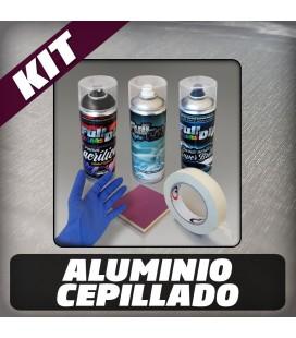 KIT Hidroimpresión Permanente ALUMINIO CEPILLADO