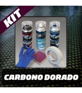 KIT Hidroimpresión Permanente CARBONO DORADO