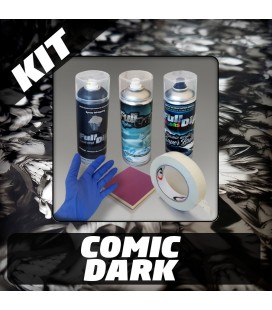 KIT Hidroimpresión Removible COMIC DARK