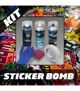 KIT Hidroimpresión Removible STICKER BOMB
