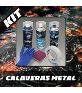 KIT Hidroimpresión Removible CALAVERA METAL