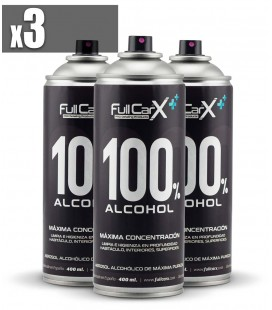 PACK x3 Sprays Higienizantes Base Alcohol 400ml