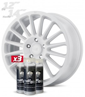 Pack 3 Sprays de 400ml Color BLANCO
