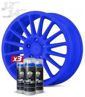 Pack 3 Sprays de 400ml Color AZUL OSCURO