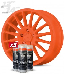 Pack 3 Sprays de 400ml Color NARANJA