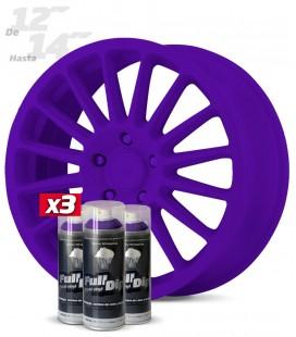 Pack 3 Sprays de 400ml Color VIOLETA