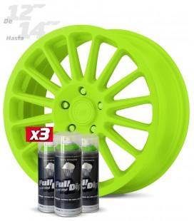 Pack 3 Sprays de 400ml Color VERDE LIMA