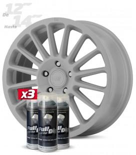 Pack 3 Sprays de 400ml Color NARDO GREY