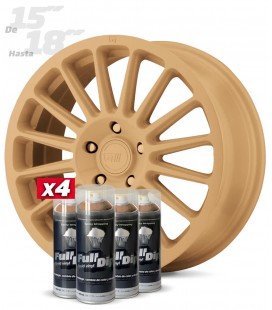 Pack x4 Sprays BEIGE MILITAR