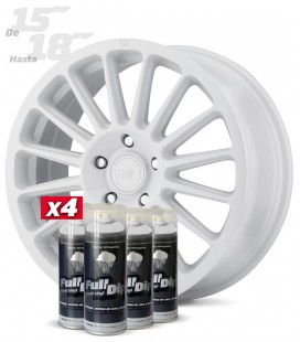 Pack 4 Sprays de 400ml Color BLANCO