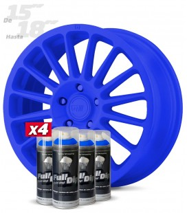 Pack 4 Sprays de 400ml Color AZUL OSCURO