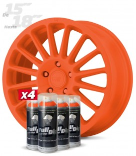 Pack 4 Sprays de 400ml Color NARANJA