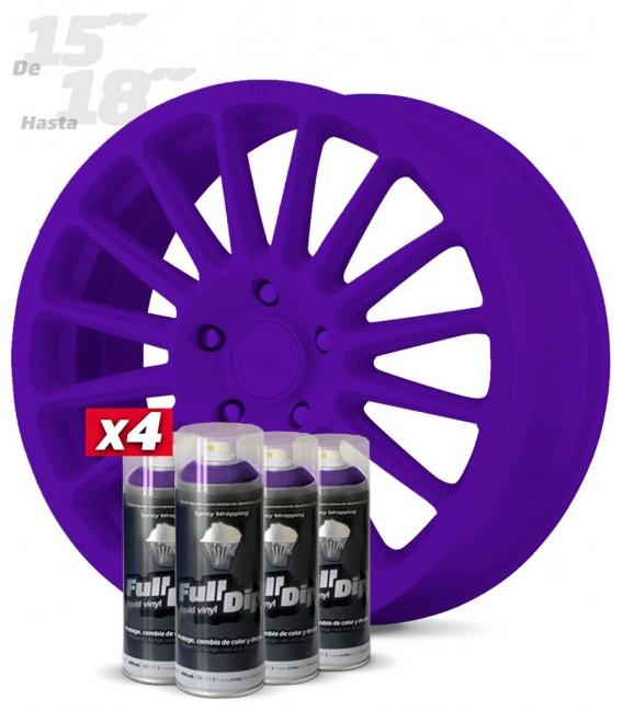 Pack 4 Sprays de 400ml Color VIOLETA