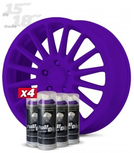 Pack 4 Sprays de 400ml Color VIOLETA