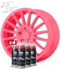 Pack 4 Sprays de 400ml Color ROSA CHICLE