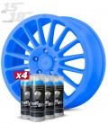 Pack 4 Sprays de 400ml Color AZUL LUMINOSO