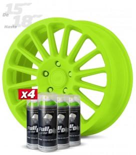 Pack 4 Sprays de 400ml Color VERDE LIMA