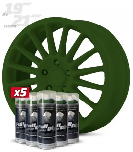Pack 5 Sprays de 400ml Color VERDE MILITAR