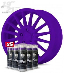 Pack 5 Sprays de 400ml Color VIOLETA