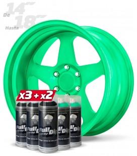 Pack 3 Sprays NEGRO + 2 Sprays VERDE ZOMBIE