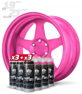 Pack ROSA CANDY +19''