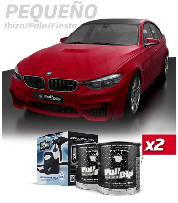KIT COLOR ROJO CEREZA (2x4L)