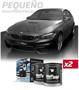 KIT COLOR HYPERBLACK METALLIC (2x4L)