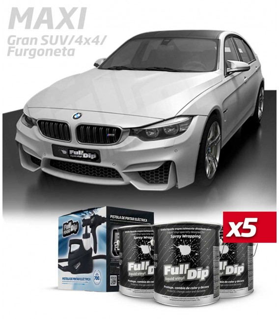 KIT COLOR HYPERSILVER METALLIC (5x4L)