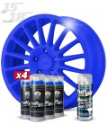 Pack 4 Sprays de 400ml Color AZUL OSCURO + 1 Spray BRILLO