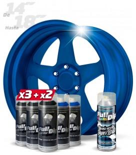 Pack 3 Sprays NEGRO + 2 AZUL DIAMANTE + 1 BRILLO