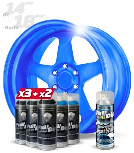 Pack 3 Sprays NEGRO + 2 AZUL MÁGICO + 1 BRILLO