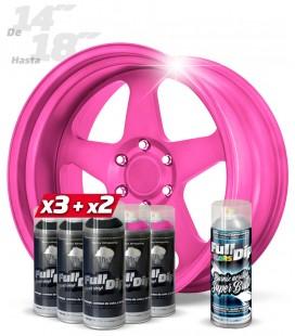 Pack 3 Sprays NEGRO + 2 ROSA CANDY+ 1 BRILLO