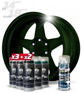 Pack 3 Sprays NEGRO + 2 CANDY VERDE DIAMANTE + 1 BRILLO