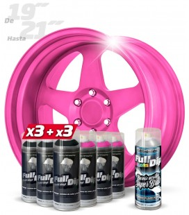 Pack ROSA CANDY +19'' BRILLO