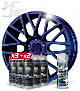 Pack 3 Sprays NEGRO + 2 CAMALEÓN STD + 1 BRILLO