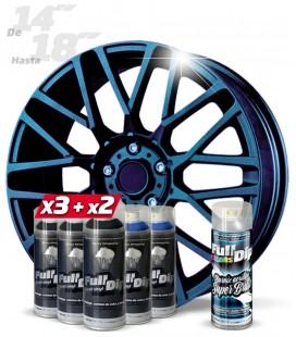 Pack 3 Sprays NEGRO + 2 CAMALEÓN HARDCORE + 1 BRILLO