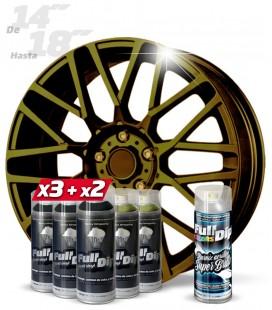 Pack 3 Sprays NEGRO + 2 CAMALEÓN MIX WORLD + 1 BRILLO