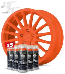Pack x5 Sprays NARANJA