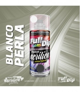 Pintura ACRÍLICA Spray 400ml BLANCO PERLA CANDY