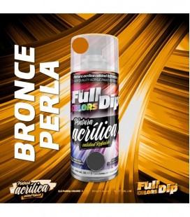 Pintura ACRÍLICA Spray 400ml BRONCE PERLA