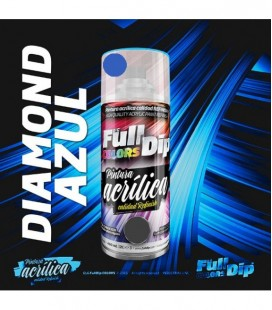 Pintura ACRÍLICA Spray 400ml DIAMANTE AZUL CANDY