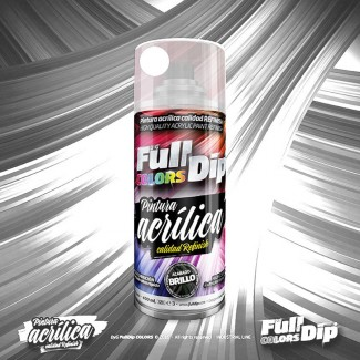 Pintura ACRÍLICA Full Colors Spray BLANCO