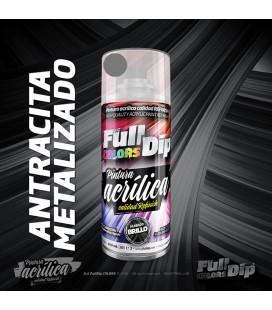 Pintura ACRÍLICA Full Colors Spray ANTRACITA METALIZADO